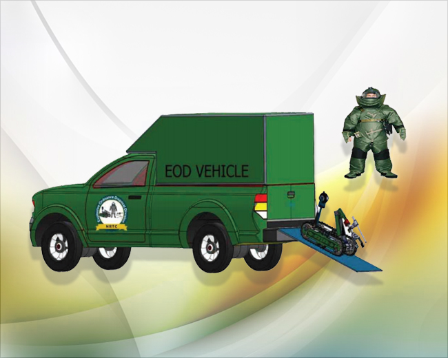 NRTC EOD Vehicle
